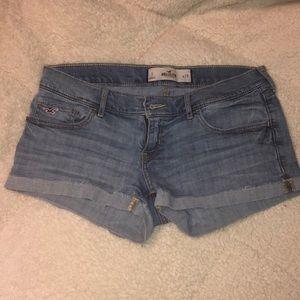 Hollister Low-rise Denim Shorts